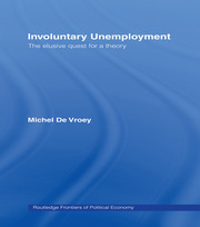 Involuntary Unemployment - 1st Edition book cover