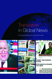 Translation in Global News - 1st Edition book cover