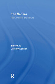 The Sahara - 1st Edition book cover