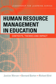 Human Resource Management in Education - 1st Edition book cover