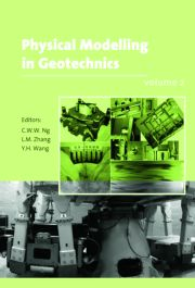 Physical Modelling in Geotechnics, Two Volume Set: Proceedings of the Sixth International Conference on Physical Modelling in Geotechnics, 6th ICPMG '06, Hong Kong, 4 - 6 August 2006