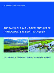 Sustainable Management After Irrigation System Transfer - 1st Edition book cover