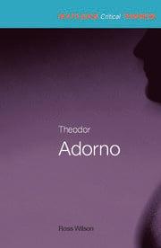Theodor Adorno - 1st Edition book cover