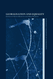 Globalisation and Equality - 1st Edition book cover