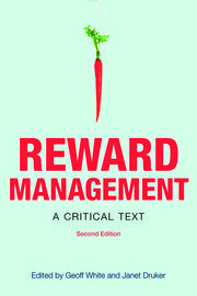 Reward Management - 2nd Edition book cover