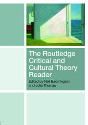 The Routledge Critical and Cultural Theory Reader - 1st Edition book cover