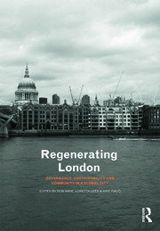 Regenerating London - 1st Edition book cover