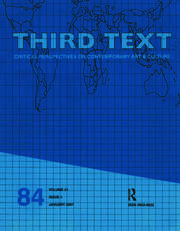 Third Text - 1st Edition book cover