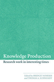 Knowledge Production - 1st Edition book cover