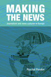 Making the News - 1st Edition book cover