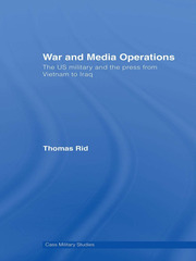 War and Media Operations - 1st Edition book cover
