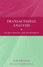 Transactional Analysis - 1st Edition book cover