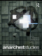 Contemporary Anarchist Studies - 1st Edition book cover