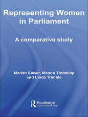 Representing Women in Parliament - 1st Edition book cover