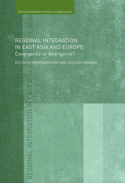 Regional Integration in East Asia and Europe - 1st Edition book cover