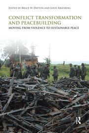 Conflict Transformation and Peacebuilding - 1st Edition book cover