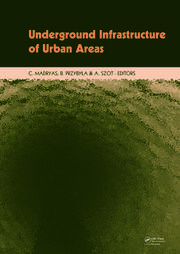 Underground Infrastructure of Urban Areas: Book + CD-ROM