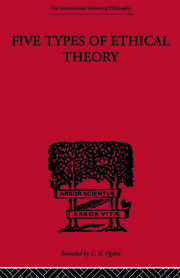 Five Types of Ethical Theory - 1st Edition book cover