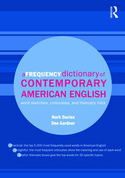 A Frequency Dictionary of Contemporary American English - 1st Edition book cover