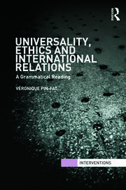 Universality, Ethics and International Relations - 1st Edition book cover