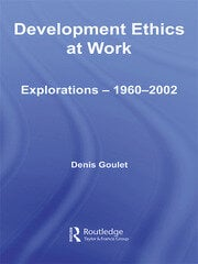 Development Ethics at Work - 1st Edition book cover