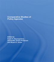 Comparative Studies of Policy Agendas - 1st Edition book cover