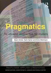 Pragmatics: An Advanced Resource Book for Students