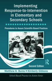 Implementing Response-to-Intervention in Elementary and Secondary Schools - 2nd Edition book cover
