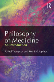 Philosophy of Medicine - 1st Edition book cover