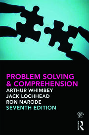 Problem Solving & Comprehension - 7th Edition book cover