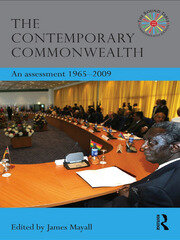 The Contemporary Commonwealth - 1st Edition book cover