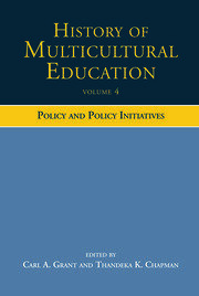 History of Multicultural Education - 1st Edition book cover