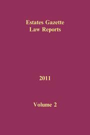 EGLR 2011 Volume 2 - 1st Edition book cover