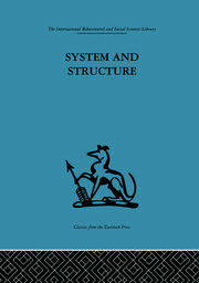 System and Structure - 1st Edition book cover