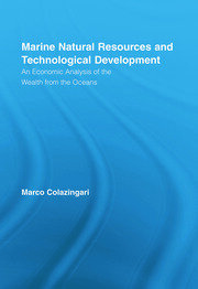 Marine Natural Resources and Technological Development - 1st Edition book cover