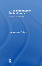 Critical Economic Methodology - 1st Edition book cover