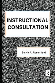 Instructional Consultation - 1st Edition book cover