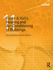 Faber & Kell's Heating and Air-Conditioning of Buildings - 11th Edition book cover