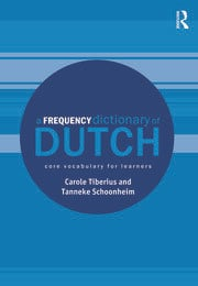A Frequency Dictionary of Dutch - 1st Edition book cover