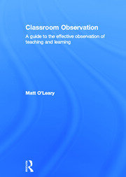 Classroom Observation - 1st Edition book cover