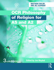 OCR Philosophy of Religion for AS and A2 - 3rd Edition book cover