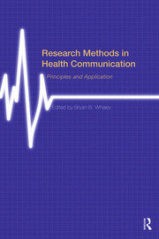 Research Methods in Health Communication - 1st Edition book cover