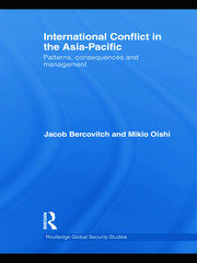 International Conflict in the Asia-Pacific - 1st Edition book cover