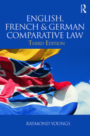 English, French & German Comparative Law - 3rd Edition book cover