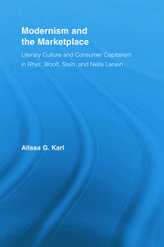 Modernism and the Marketplace - 1st Edition book cover