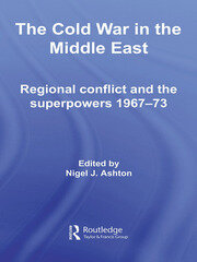 The Cold War in the Middle East - 1st Edition book cover