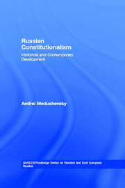 Russian Constitutionalism - 1st Edition book cover