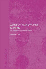 Women's Employment in Japan - 1st Edition book cover