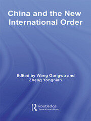 China and the New International Order - 1st Edition book cover