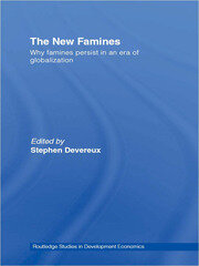 The New Famines - 1st Edition book cover